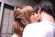 Sumire Matsu - Sumire Matsu in Sexy Lingerie Sucks off a Hard Cock - Picture 9