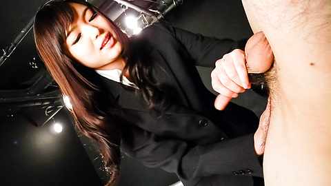 Megumi Shino - Megumi Shino licks dicks and enjoys threesome sex  - Picture 8