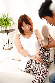 Izumi Manaka - Sexy MILF Izumi Manaka in asian blowjob movies gets fucked - Picture 10