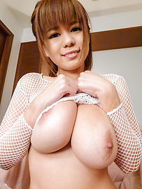 Airu Oshima - Airu Oshima enjoys showing her large melons off - Picture 2
