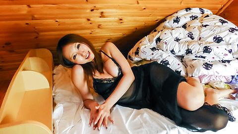 Ruka Ichinose - หัวนมใหญ่รุกะชิโนเอเชียใช้เครื่องสั่นในอะไรให้ร้อน -  10 รูปภาพ