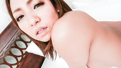 Hikari - Asian blowjob by craving Japanese babe in heats Hikari  - Picture 11