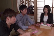 Supreme gangbang sex play for needy Makoto Kasai Photo 3