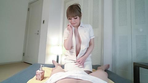 Reika Kashiwakura - Superb Japanese handjob along hot Reika Kashiwakura - Picture 3