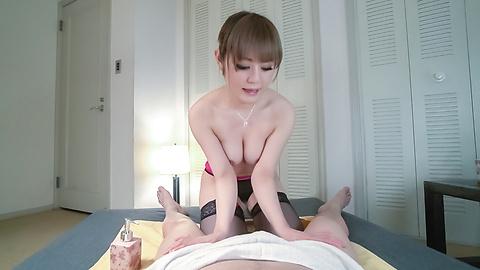 Reika Kashiwakura - Superb Japanese handjob along hot Reika Kashiwakura - Picture 8