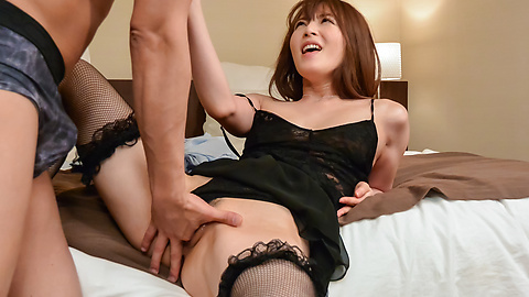 Miku Ohashi - Miku Ohashi enjoys her first time creampie Asian end - Picture 6