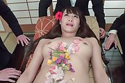 Slim Asian milf gets to suck cocks until exhaustion  Photo 2
