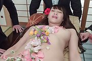 Slim Asian milf gets to suck cocks until exhaustion  Photo 4