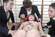 Slim Asian milf gets to suck cocks until exhaustion  Photo 7