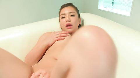 松本芽依 - 生ハメハーフ美女松本メイ~昇天オナニー - Picture 12