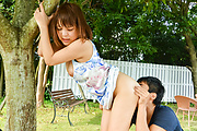 Yuuka Kaede - Japanese fucking in outdoor with hot Yuuka Kaede - Picture 3
