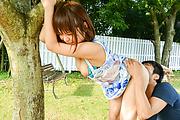 Yuuka Kaede - Japanese fucking in outdoor with hot Yuuka Kaede - Picture 7