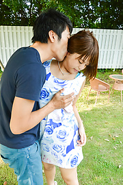 Yuuka Kaede - Japanese fucking in outdoor with hot Yuuka Kaede - Picture 1