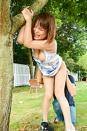 Yuuka Kaede - Japanese fucking in outdoor with hot Yuuka Kaede - Picture 6