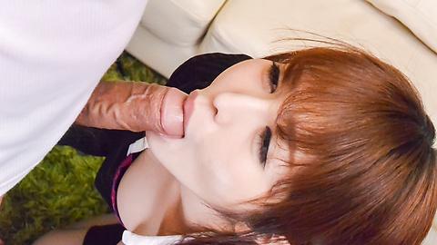 Cocolo - 与年轻公鸡大胸部惊人的性爱场面亚洲摩洛 - 图片 8