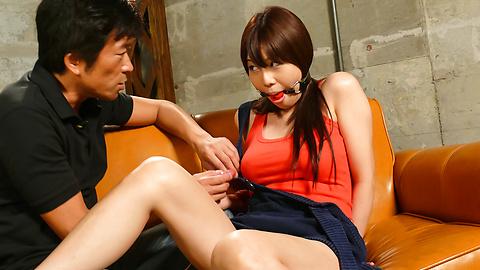 Karen Natsuhara - Karen Natsuhara fucked with toys in a japanese bondage video - Picture 8