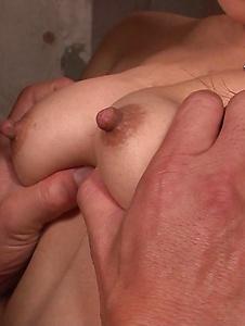 Kokone Mizutani - Kokone Mizutani loses lingerie to fuck with man on the couch - Screenshot 11