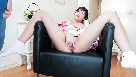 Ema Kato - Wife in kimono fucked after a hot Asian blowjob  - Picture 11