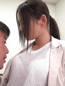 Emiri Okazaki - Seductive xxx Japanese porn with slim Emiri Okazaki - Screenshot 10