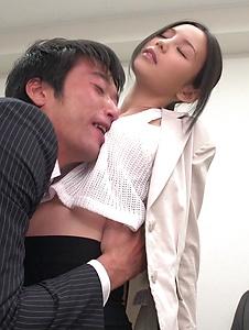Emiri Okazaki - Seductive xxx Japanese porn with slim Emiri Okazaki - Screenshot 12