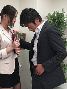 Emiri Okazaki - Seductive xxx Japanese porn with slim Emiri Okazaki - Screenshot 2