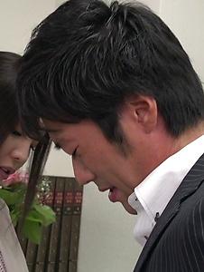 Emiri Okazaki - Seductive xxx Japanese porn with slim Emiri Okazaki - Screenshot 4