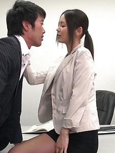 Emiri Okazaki - Seductive xxx Japanese porn with slim Emiri Okazaki - Screenshot 9