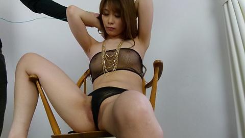 Rika Aiba - 兩人從摩伊Rika Aiba得到日本口交 - 圖片2