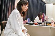 Momoka Rin gives an asian blowjob to swallow his jizz Photo 1