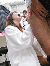 Momoka Rin - Momoka Rin gives an asian blowjob to swallow his jizz - Picture 10