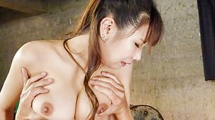 Naughty threesome with big tits Natsuki Shino