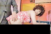 Big tits Ririsu Ayaka gets naughty on a big dong  Photo 12