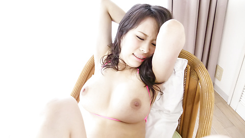 Kyouko Maki - เช็คก้นสวย เคียวโกะ มากิเป็นเธอ fucks ตัวเองกับเครื่องสั่น ญี่ปุ่น -  5 รูปภาพ