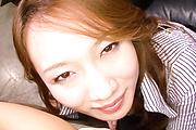 Kazumi Nanase fucked and creampied in stockings in POV Photo 3