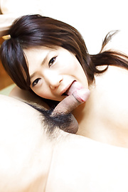 Yukari - Yukari plugging her hairy pussy with various sex toys - Picture 3