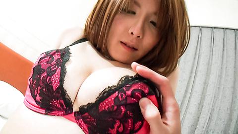 Yuna Hirose - Yuna Hirose fucks penis with hairy twat - Picture 3