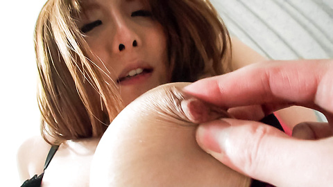 Yuna Hirose - Yuna Hirose fucks penis with hairy twat - Picture 5
