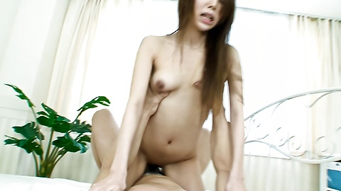 Awesome hardcore threesome with Asukarino screaming in pleasure