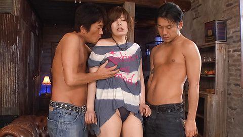 Ririsu Ayaka - Busty Ririsu Ayaka dalam video xxx seks Jepang - gambar 4