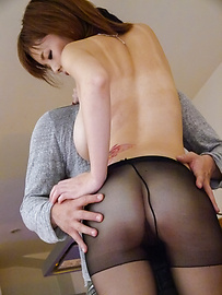 Airu Oshima - Japanese stockings porn along top Airu Oshima - Picture 11