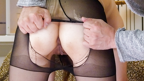 Airu Oshima - Japanese stockings porn along top Airu Oshima - Picture 12