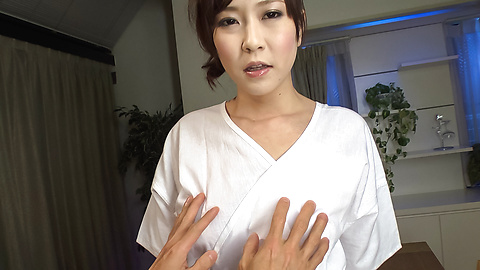 Kotone Amamiya - Kotone Amamiya fucked with toys in jav amateur video  - Picture 1