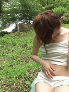 Yui Uehara - Asian amateur sex in outdoor with Yui Uehara - Screenshot 4