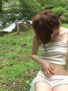 Yui Uehara - Asian amateur sex in outdoor withYui Uehara - Screenshot 4