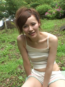 Yui Uehara - Asian amateur sex in outdoor with Yui Uehara - Screenshot 6