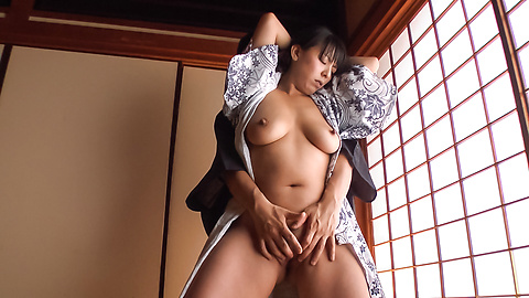 Ryoko Murakami - Gorgeous Asian milf fucked with Asian dildos  - Picture 7
