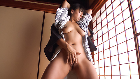Ryoko Murakami - Gorgeous Asian milf fucked with Asian dildos  - Picture 9
