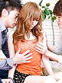 Sexy Teen Megu Kamijyou Gets Creampied In A Threesome Photo 7