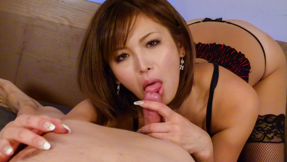 Amazing asian blowjobwith sensualMai Kuroki
