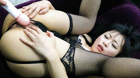Hot Nozomi Hazuki is aroused to the maximum